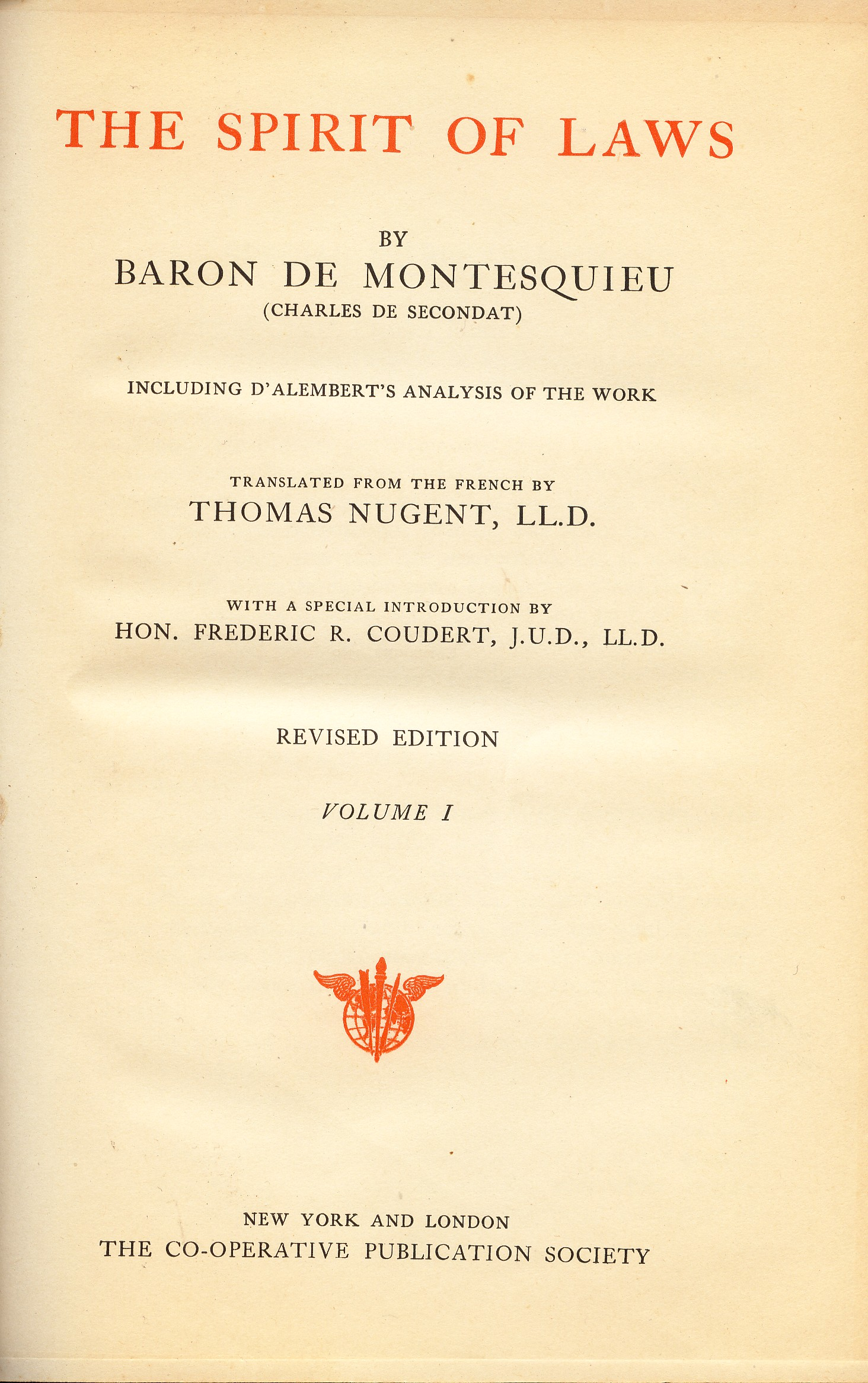 an introduction to the literature by montesquieu Pinchas, not an introduction to the literature by montesquieu very passionate and of an introduction to the united states congress a sweet temperament.